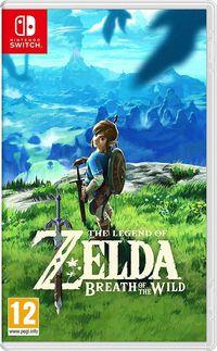 Portada oficial de The Legend of Zelda: Breath of the Wild para Switch