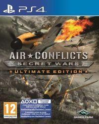 Portada oficial de Air Conflicts: Secret Wars para PS4