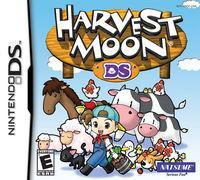 Portada oficial de Harvest Moon DS para NDS