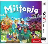 Portada oficial de Miitopia para Nintendo 3DS