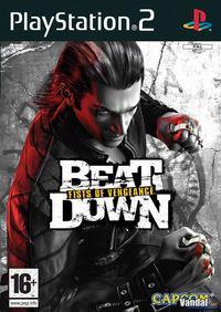 Portada oficial de Beat Down: Fists of Vengeance para PS2