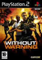 Portada oficial de Without Warning para PS2