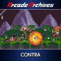 Portada oficial de Arcade Archives CONTRA para PS4