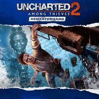 Portada oficial de Uncharted 2: El reino de los ladrones remasterizado para PS4