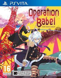 Portada oficial de Operation Babel: New Tokyo Legacy para PSVITA