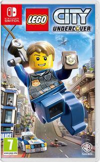 Portada oficial de LEGO City Undercover para Switch