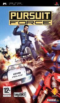 Portada oficial de Pursuit Force para PSP