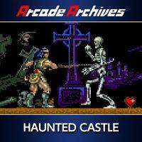 Portada oficial de Arcade Archives Haunted Castle para PS4