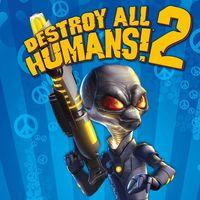 Portada oficial de Destroy All Humans! 2 para PS4
