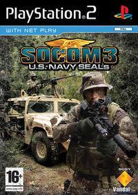 Portada oficial de Socom III: US Navy Seals para PS2