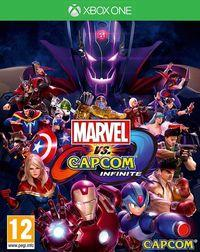 Portada oficial de Marvel vs. Capcom: Infinite para Xbox One
