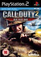 Portada oficial de de Call of Duty 2: Big Red One para PS2