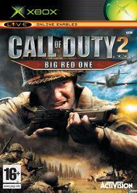 Portada oficial de Call of Duty 2: Big Red One para Xbox