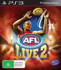 Portada oficial de AFL Live 2 para PS3