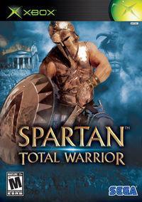 Portada oficial de Spartan: Total Warrior para Xbox