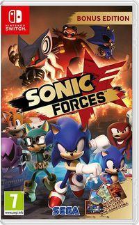 Portada oficial de Sonic Forces para Switch