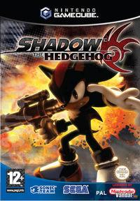 Portada oficial de Shadow the Hedgehog para GameCube