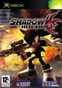 Portada oficial de Shadow the Hedgehog para Xbox