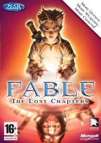 Portada oficial de Fable: The Lost Chapters para PC