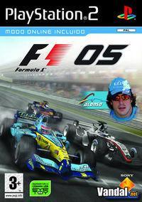 Portada oficial de Formula One 2005 para PS2