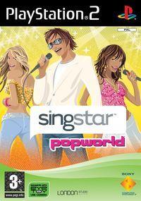 Portada oficial de SingStar Popworld para PS2