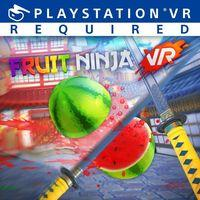 Portada oficial de Fruit Ninja VR para PS4