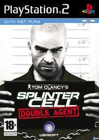 Portada oficial de Splinter Cell: Double Agent para PS2