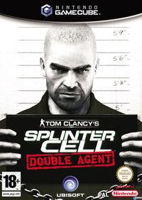Portada oficial de Splinter Cell: Double Agent para GameCube