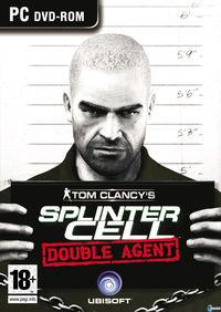 Portada oficial de Splinter Cell: Double Agent para PC