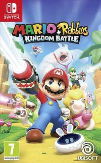 Portada oficial de Mario + Rabbids Kingdom Battle para Switch