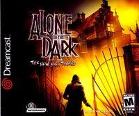 Portada oficial de Alone in the Dark 4 para Dreamcast