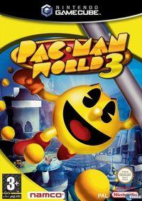 Portada oficial de Pac-Man World 3 para GameCube