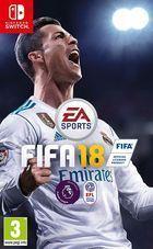 Portada oficial de de FIFA 18 para Nintendo Switch