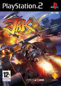Portada oficial de Jak X para PS2