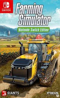 Portada oficial de Farming Simulator 17 para Switch