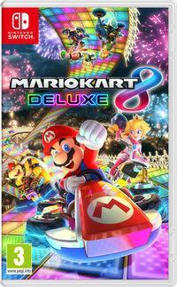 Portada oficial de Mario Kart 8 Deluxe para Switch