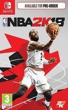 Portada oficial de de NBA 2K18 para Nintendo Switch