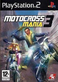 Portada oficial de Motocross Mania 3 para PS2