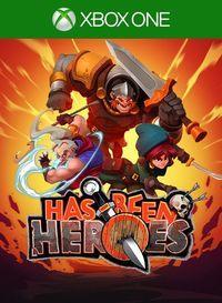 Portada oficial de Has-Been Heroes para Xbox One