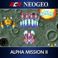 Portada oficial de Arcades Archives Neo-Geo Alpha Mission II para PS4