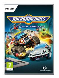 Portada oficial de Micro Machines World Series para PC