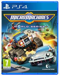 Portada oficial de Micro Machines World Series para PS4