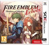 Portada oficial de Fire Emblem Echoes: Shadows of Valentia para Nintendo 3DS