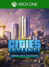 Portada oficial de Cities: Skylines para Xbox One