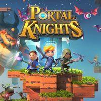 Portada oficial de Portal Knights para PS4