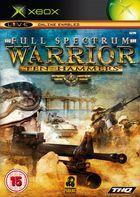 Portada oficial de Full Spectrum Warrior: Ten Hammers para Xbox