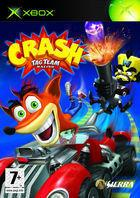 Portada oficial de Crash Tag Team Racing para Xbox