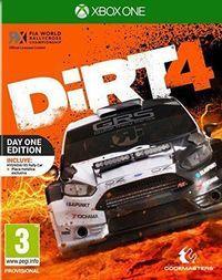 Portada oficial de DiRT 4 para Xbox One