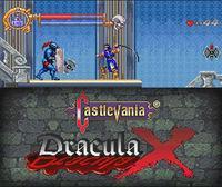 Portada oficial de Castlevania Dracula X CV para Nintendo 3DS