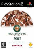 Portada oficial de Roland Garros 2005 Powered by Smash Court Tennis para PS2